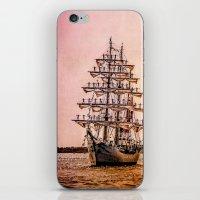 Tall ship Gloria iPhone & iPod Skin