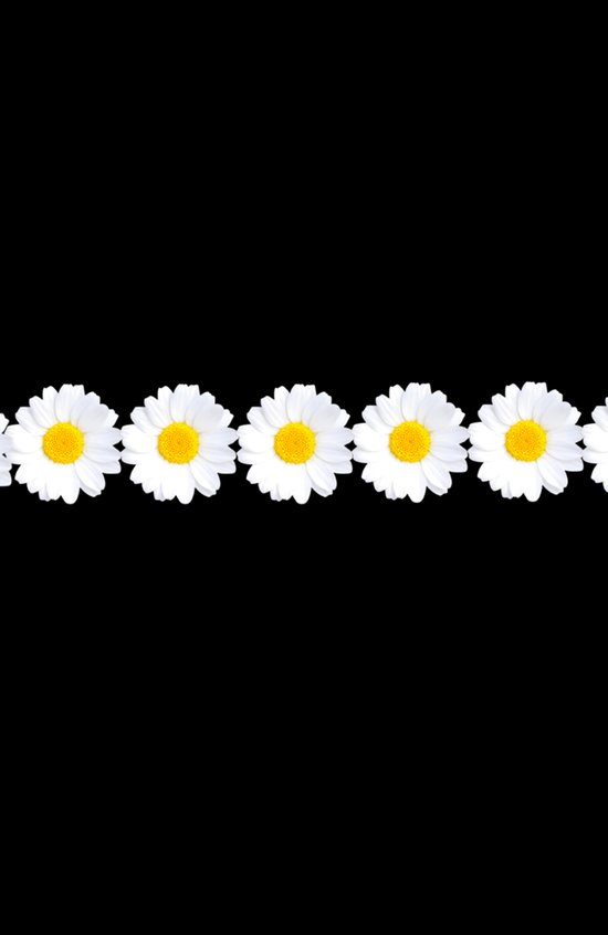 Daisy chain for iphone Art Print