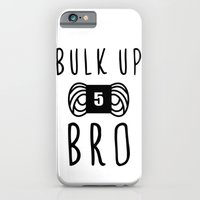bulk up bro funny yarn knit crochet iPhone 6 Slim Case