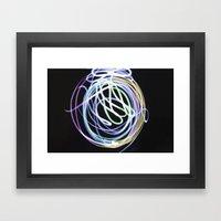 Illuminate the Paint Framed Art Print