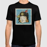 Marge Mens Fitted Tee Black SMALL