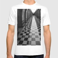 Moscow Metra Mens Fitted Tee White SMALL