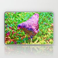 Hen On Grass Laptop & iPad Skin