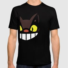 Catbus Black Mens Fitted Tee SMALL
