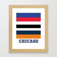 CHICAGO SPORTS Framed Art Print