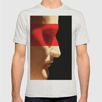Silent Napoleon Mens Fitted Tee Silver SMALL