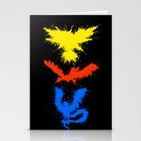 Legendary Bird Splatter Stationery Cards