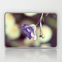 Purple Flower II Laptop & iPad Skin