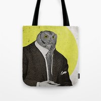 Night Owl Tote Bag