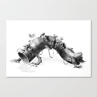 Creature Forest  Canvas Print