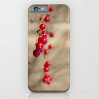 iPhone & iPod Case featuring Winter Berries by Amything Goes