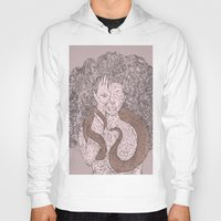 Snake and Sprite: Pink Hoody