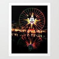 Mickey Again Art Print