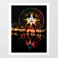 Mickey Again Art Print