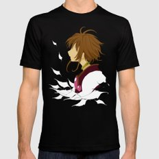Lost Wings Mens Fitted Tee SMALL Black