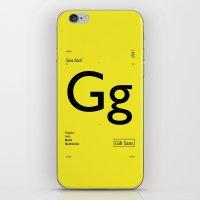 Gill Sans iPhone & iPod Skin