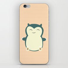 It aint easy being sleepy. iPhone & iPod Skin