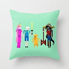 Adventure Time Gang Throw Pillow