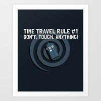 Rule Number One Art Print