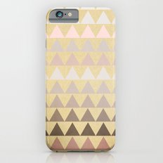 Muted Triangles Slim Case iPhone 6s
