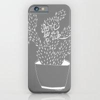 Cactus In White iPhone 6 Slim Case