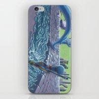 POEM OF FLOOD iPhone & iPod Skin