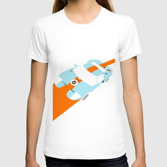Orange Notch - Ford GT40 Race Car T-shirt