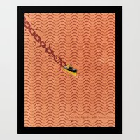 Vast Ocean Art Print