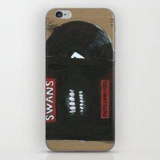 Diddie Doodle Swans Filt… iPhone & iPod Skin