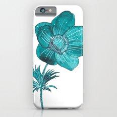 Anemone Watercolor Slim Case iPhone 6s