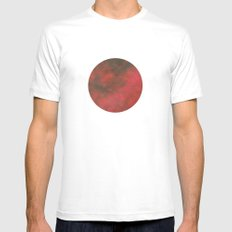 Pl∆net SMALL White Mens Fitted Tee