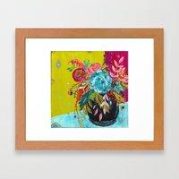 Bouquet Series no. 3 by Bari J. Framed Art Print