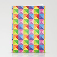 Squiangle Again & Again.… Stationery Cards