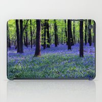 drowning in the bluebell sea iPad Case