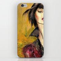 Vivian Wakes iPhone & iPod Skin