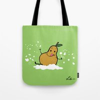 Goat Cheese & Pears Tote Bag