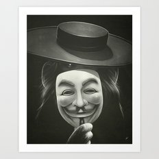 Anonymous II Art Print