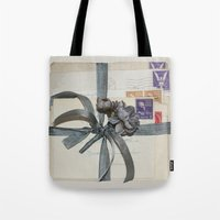 Old Love Letters Tote Bag