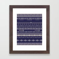 Native Groovy Framed Art Print