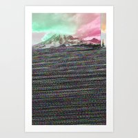 Mount Wisdom Art Print