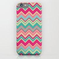 Aztec Chevron Pattern- P… iPhone 6 Slim Case
