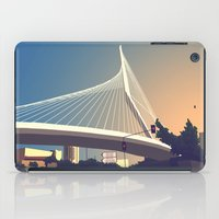 Calatrava Bridge Jerusalem iPad Case