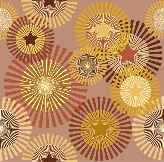 Sunflower Starflower Art Print