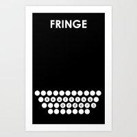 Fringe - Minimalist Post… Art Print
