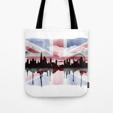 Great British Flag London Skyline 2 Tote Bag