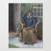 Beatrix Rabbit (an Homag… Canvas Print