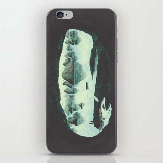 In the Belly of a Beast iPhone & iPod Skin