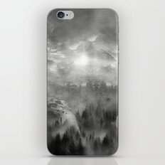 Black and White - Wish You Were Here (Chapter I) iPhone & iPod Skin