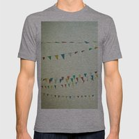 Oh Happy Day Mens Fitted Tee Athletic Grey SMALL
