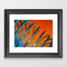 Slinky Framed Art Print